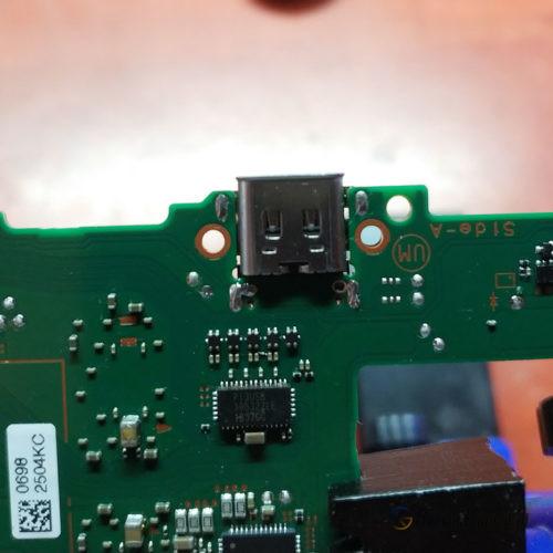 Wymiana złącza USB-C Nintendo Switch